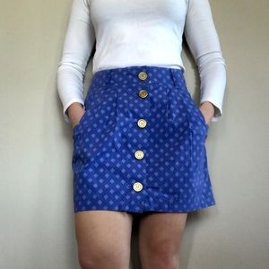 Cooperative Anthropologie Button Skirt